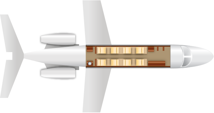 Cessna-Citation-525-seating-chart